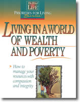 Book Cover: Living in a World of Wealth and Poverty